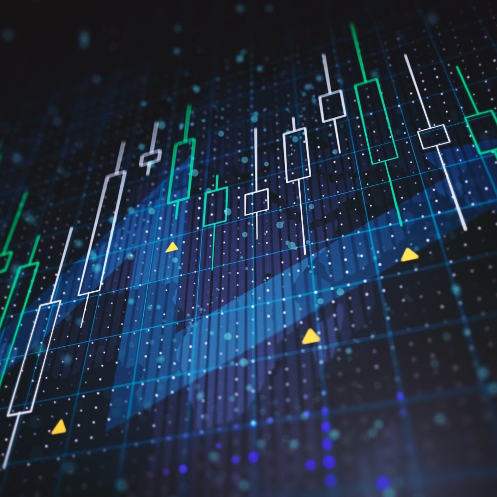 1000x1000 abstract-financial-charts-with-upward-arrow-on-a-blue-background-3d-picture-id1205460059
